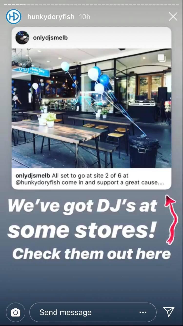 Retail DJ hire Melbourne