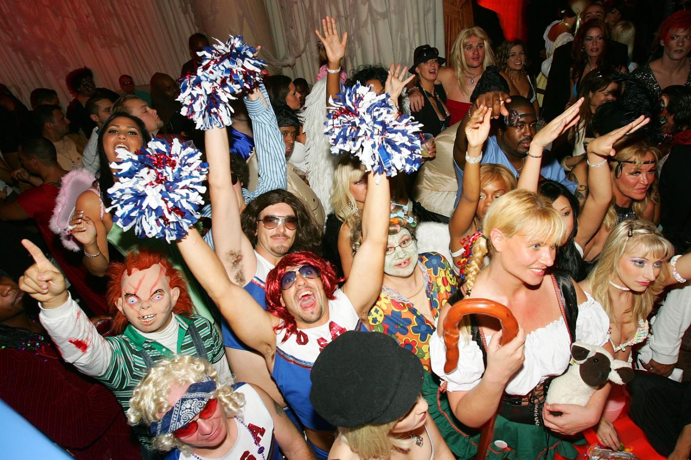 Halloween party DJ hire