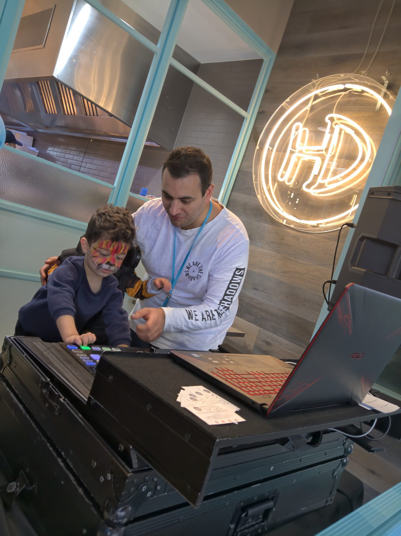Working with children DJ