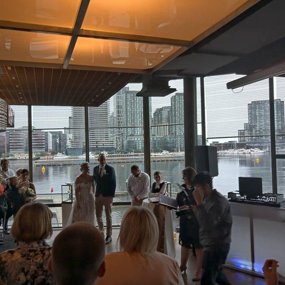 surprise wedding dj hire Melbourne
