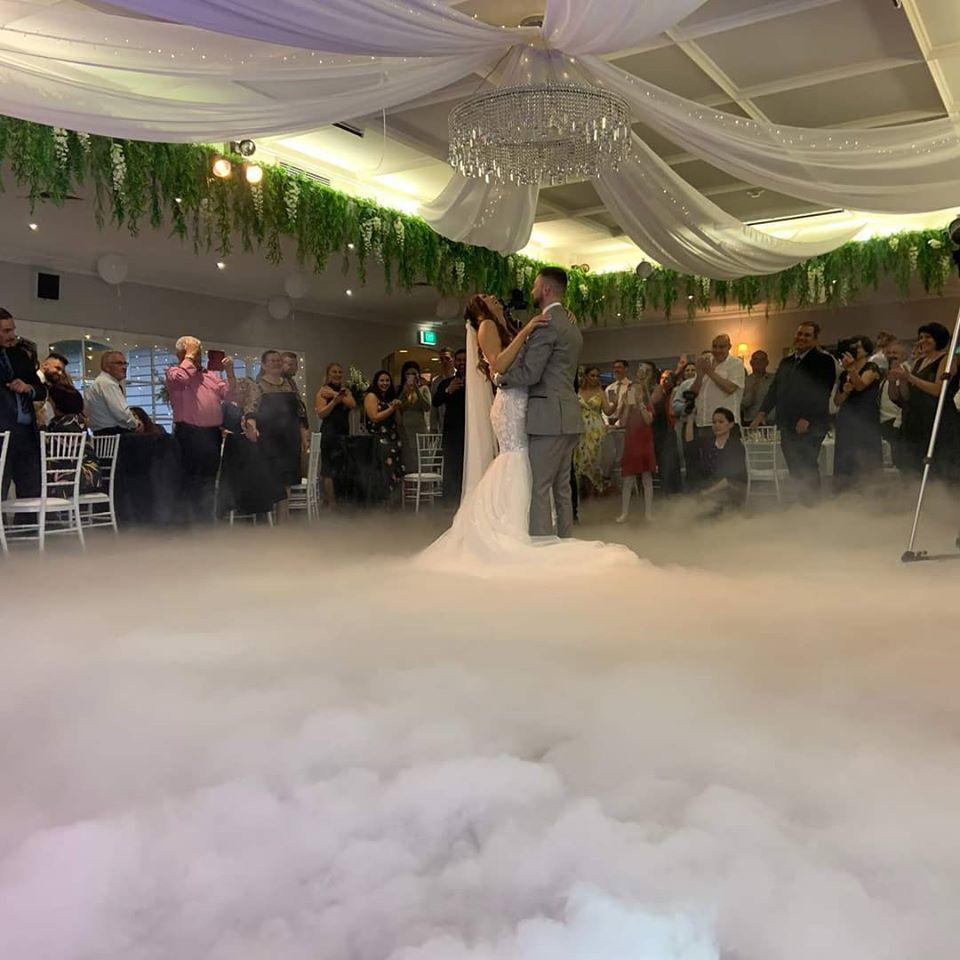 dry ice wedding ceremony