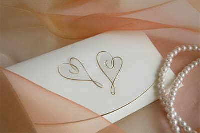 Wedding invitation tip