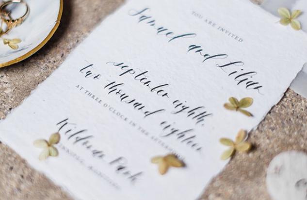 Wedding invitation tips