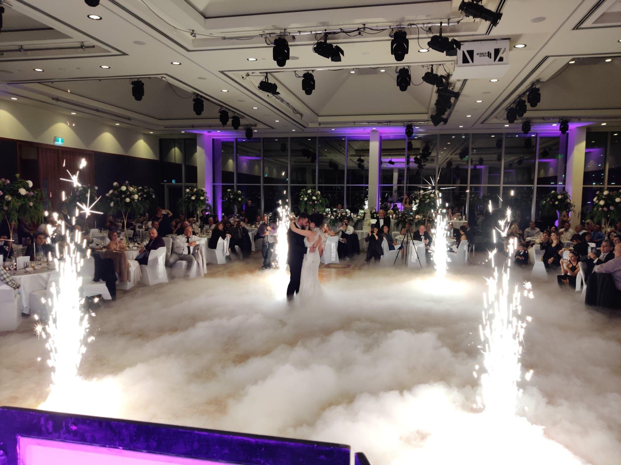 wedding fireworks effects
