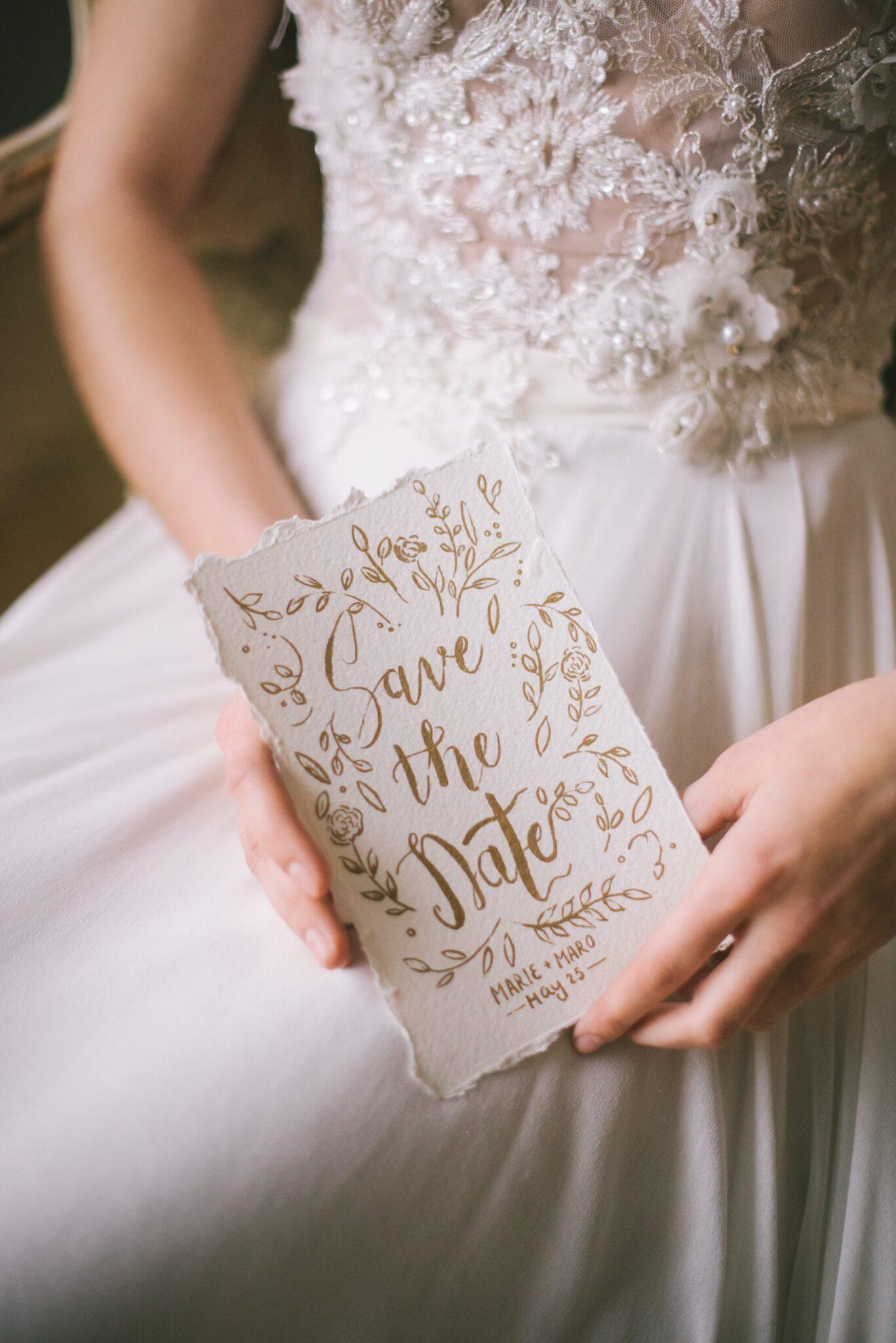 Surprise wedding info