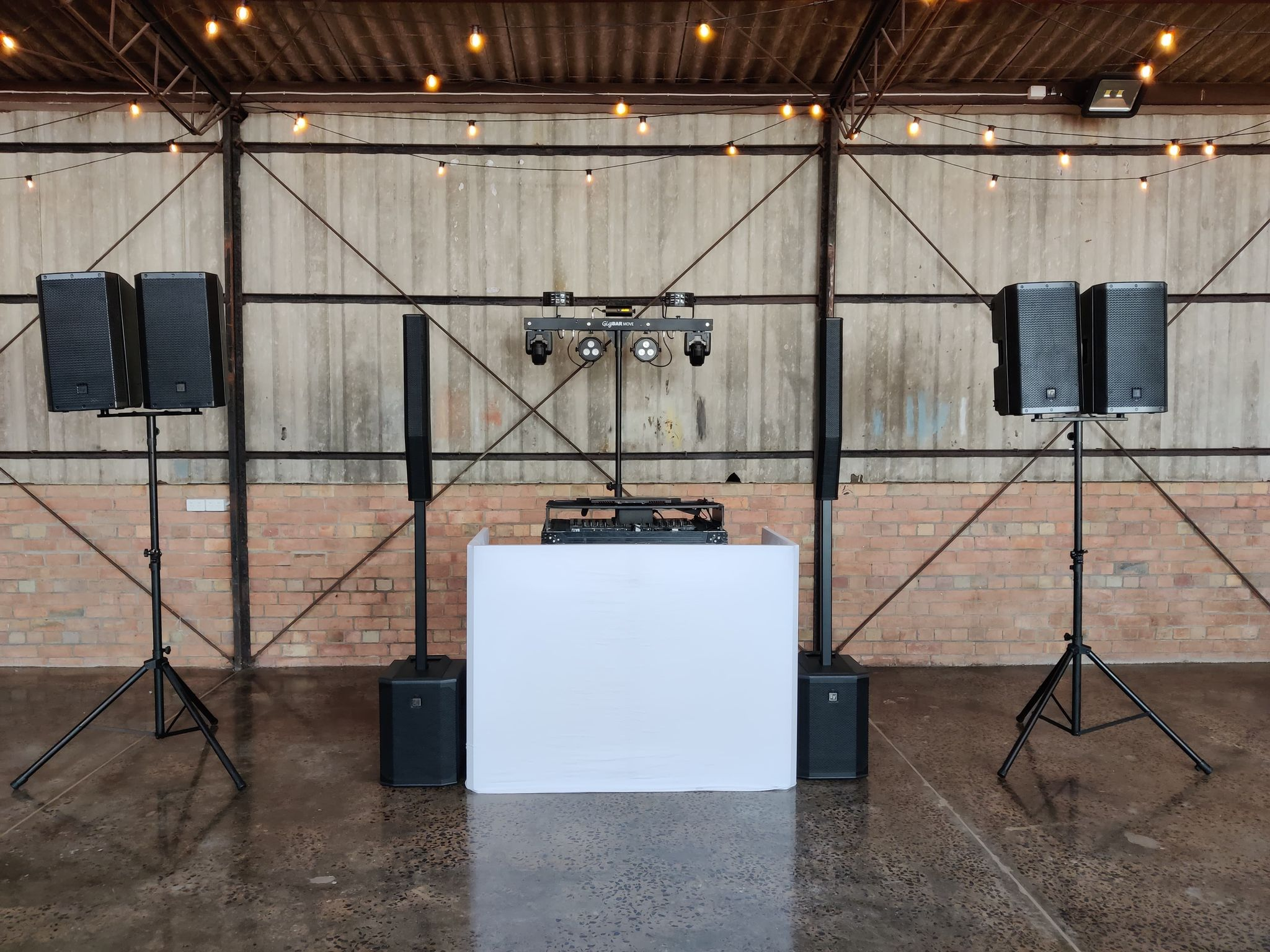 Complete wedding DJ hire package