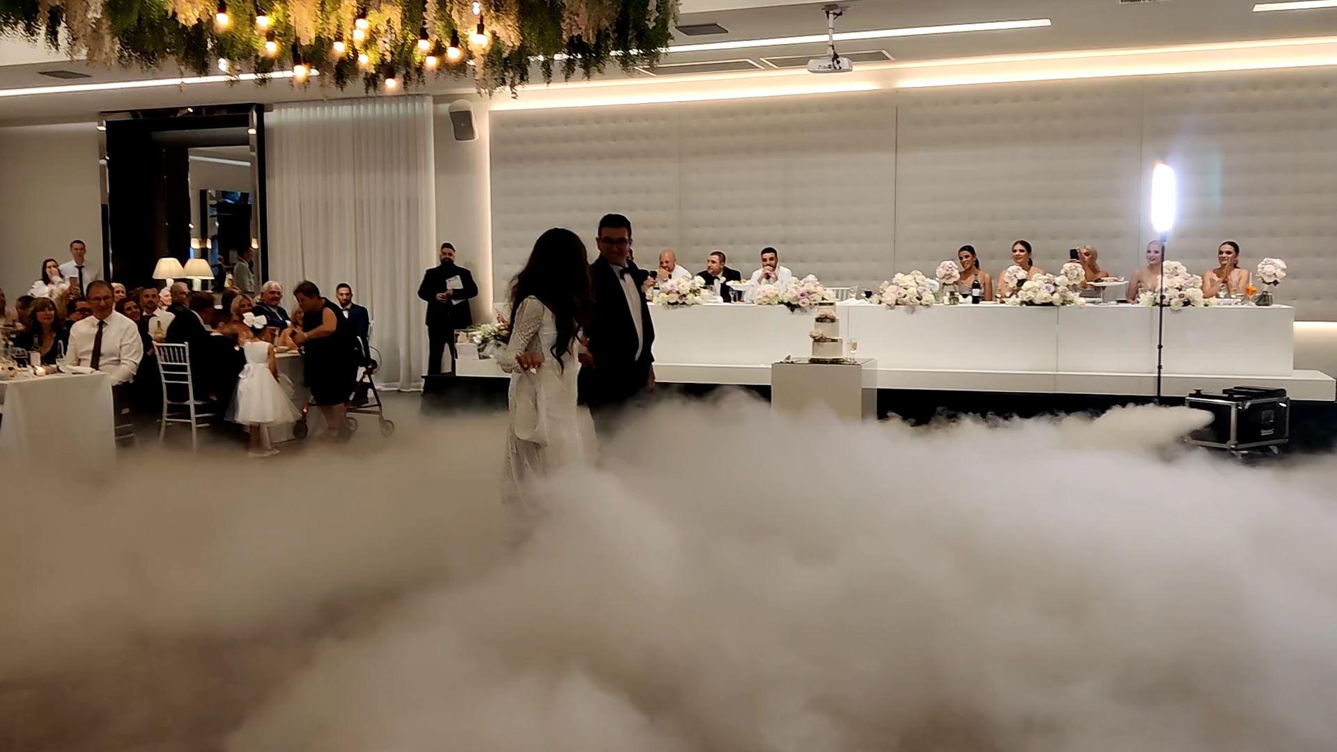 Italian wedding first dance effects