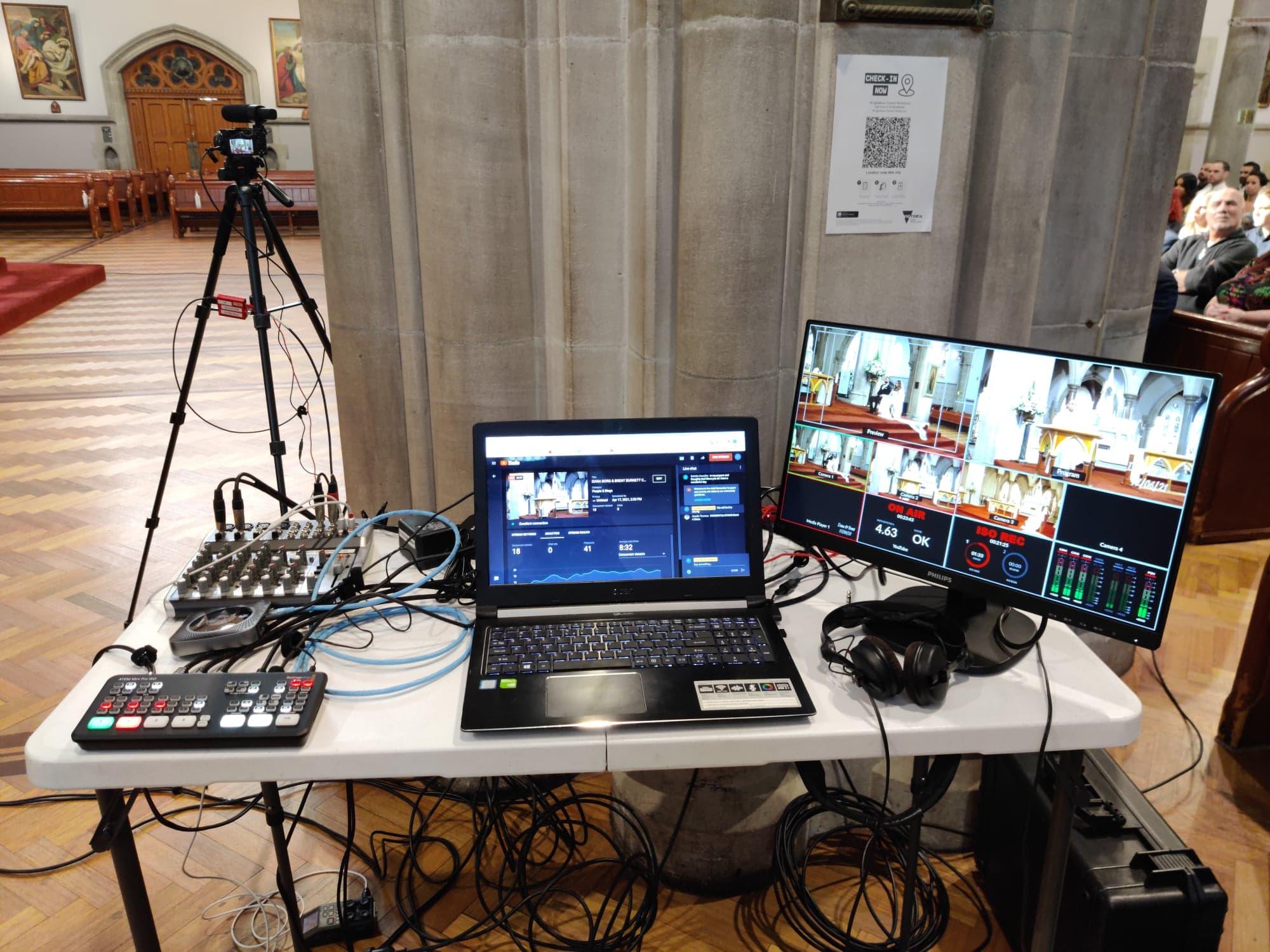 Live streaming service Melbourne