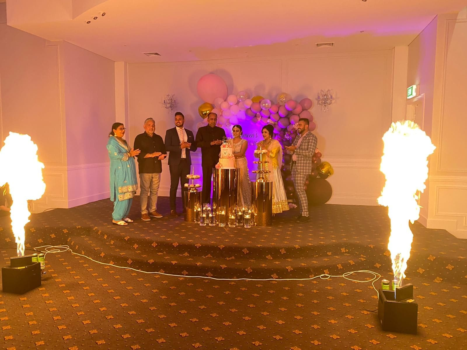 Flame thrower FX hire Melbourne